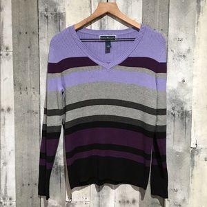 Karen Scott V-Neck Sweater